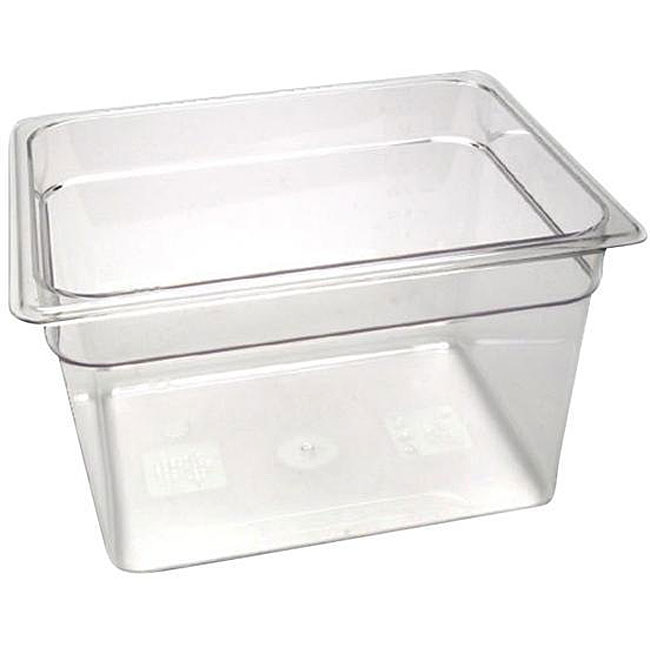 Cambro 8-in-deep Clear Half-size Pan
