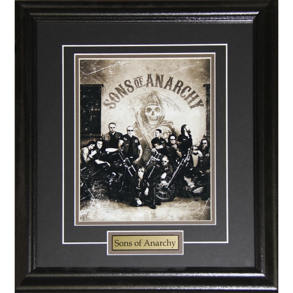 Sons of Anarchy Tv Cast 8x10-inch Frame