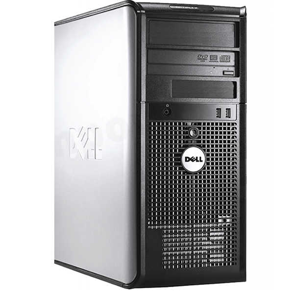 Dell Optiplex Desktop PC Computer System Windows 10 Professional Dual Core 8GB 500GB DVD Wifi with a 19' LCD-Refurbished Computer